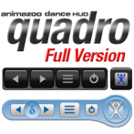 The Quadro Finder HUD